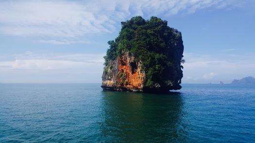 rock into the andaman sea